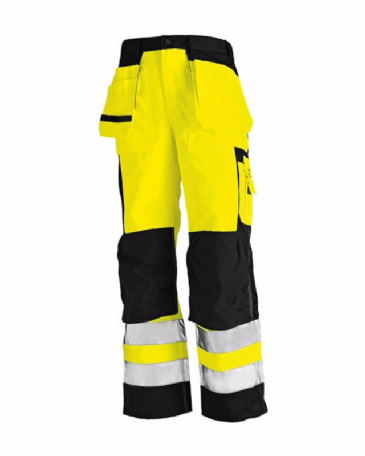 Blaklader 1533 High Visibility Trousers (Yellow/Black)
